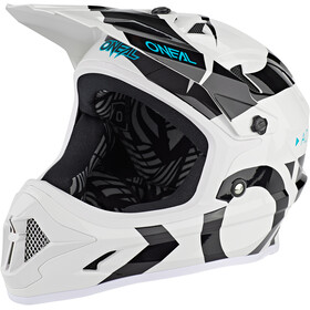 O'Neal Backflip Kask Slick, white/black
